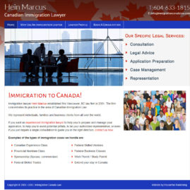 Hein Marcus – Canadian Immigration Law