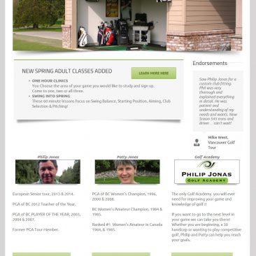 Phil Jonas Golf Academy