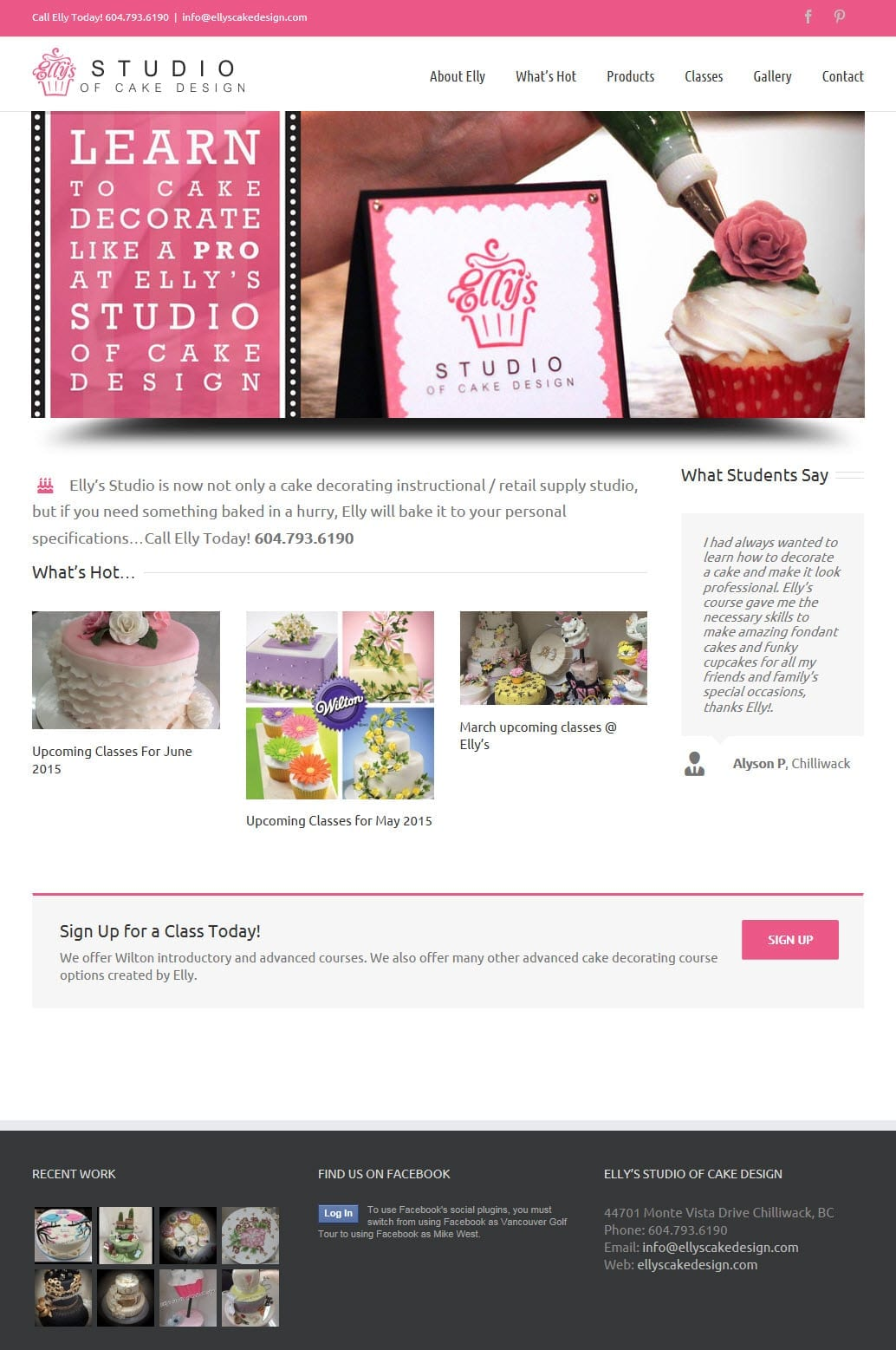 Elly S Studio Cake Design Chilliwack : Elly s Studio of Cake Design   MousePad Publishing Website ...