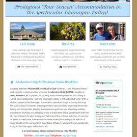 Mountainside Accommodations