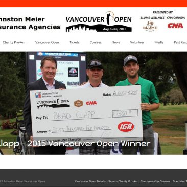 Vancouver Open Golf Tournament