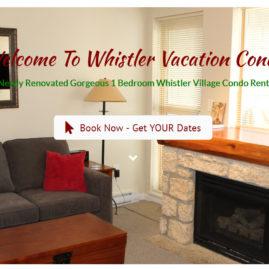 Whistler Vacation Condo Rental